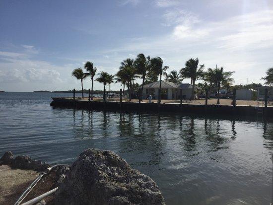 Banana Bay Resort and Marina Marathon: They were holding a wedding at that area across Marina