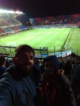 Tangol : Partido San Lorenzo vs Universidad Catolica en el nuevo Gasometro