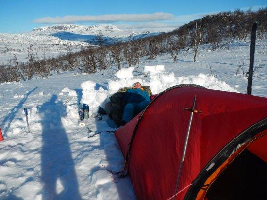 Geilo, Norway: Lær å lag den fineste teltleiren