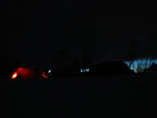Geilo, Norway: En natt i telt om vinteren kan være noe helt spesielt