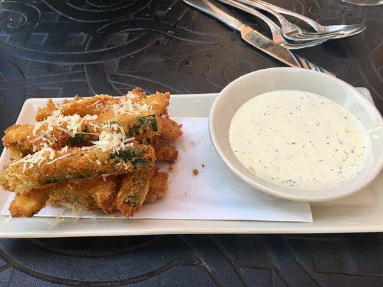 Fairfax, VA: Fried Zucchini appetizer