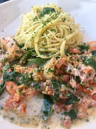 Fairfax, VA: Shrimp and Pasta (Skinny Menu)
