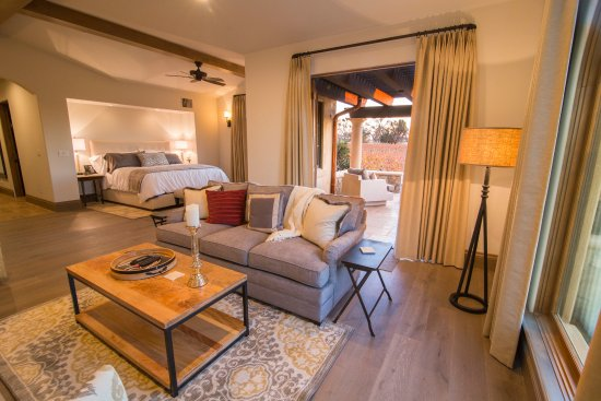 Plymouth, Kalifornia: Suite with private bath & patio overlooking vineyard