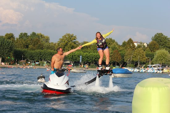 Lazise, Italien: Flyboarding Experts Training