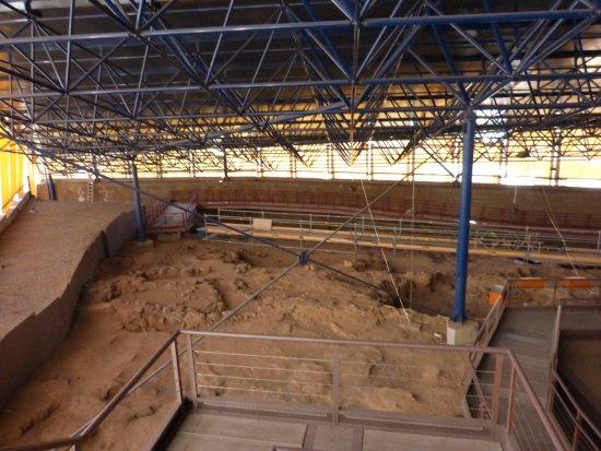 Galdar, Espagne : Instalación excavaciones