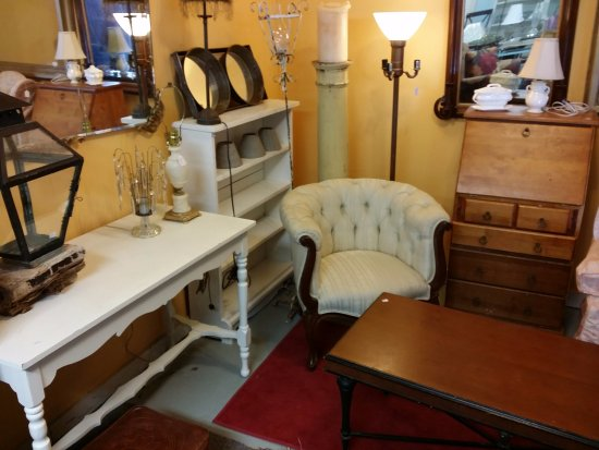We have an every changing inventory of beautiful furniture at the Hallowell Antique Mall!