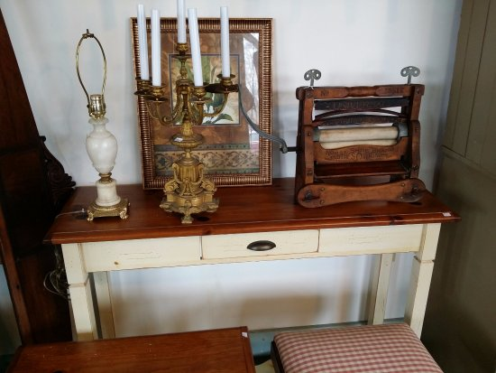 We have many unique items for sale at the Hallowell Antique Store!