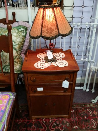 If you are looking for furniture the Hallowell Antique Mall has a large variety of beautiful pie