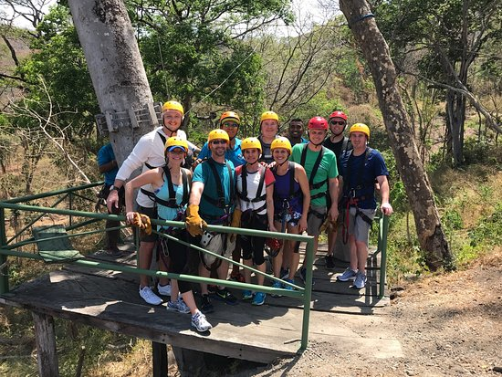 Gulf of Papagayo, Kosta Rika: Witch's Rock Canopy Tour