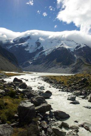 Aoraki Mount Cook National Park (Te Wahipounamu), New Zealand: from the trail