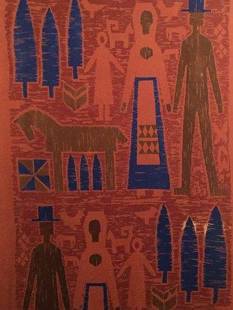 Estonian Museum of Applied Art & Design : interesting fabric