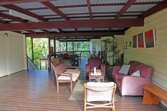 Glass House Mountains, Australia: Lounge area