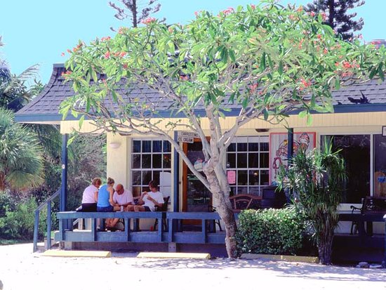 enjoying ice cream in oldtown sanibel picture of seahorse cottages rh tripadvisor com Sanibel Island Old Town seahorse cottages sanibel island