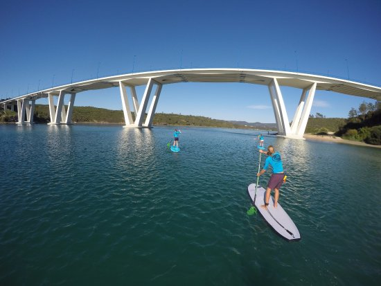 Stand Up Paddle Lesson in Vila Nova de Milfontes Alentejo