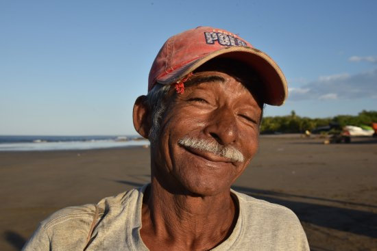 Casares, Nicaragua: Fisher after long night at sea