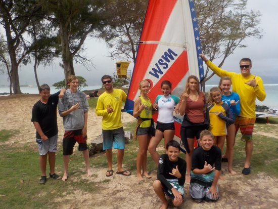 Windsurfing School of Maui Summer Camp 1