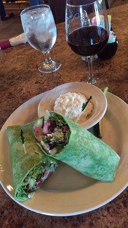 Colona, IL: salad in a wrap