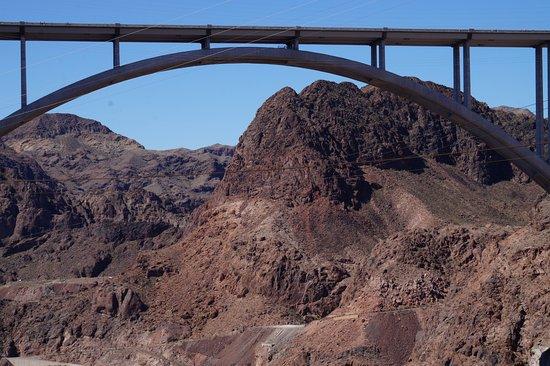 Rainbow Bridge From Hoover Dam Picture Of Hoover Dam Bypass Las Vegas Tripadvisor