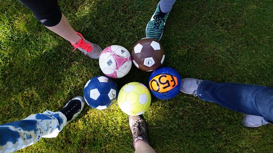 Clackamas, OR: Foot Golf at Sah-Hah-Lee
