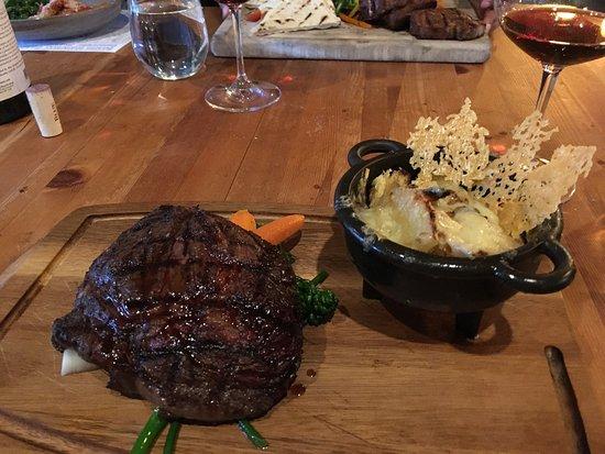 Farm to table restaurant in Banff