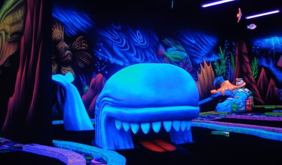 Shankz Black Light Miniature Golf