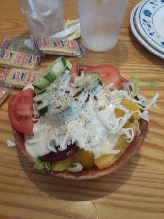 Lugoff, SC: Great Salad!