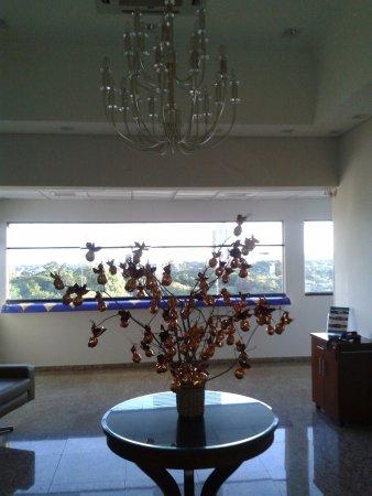 Tarobá Hotel: entrada da área do café da manhã