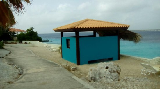 Bonaire: Seaside Cabana for Seaside Massages and Services