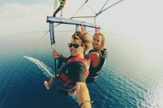 Private Tour: Parasailing from...