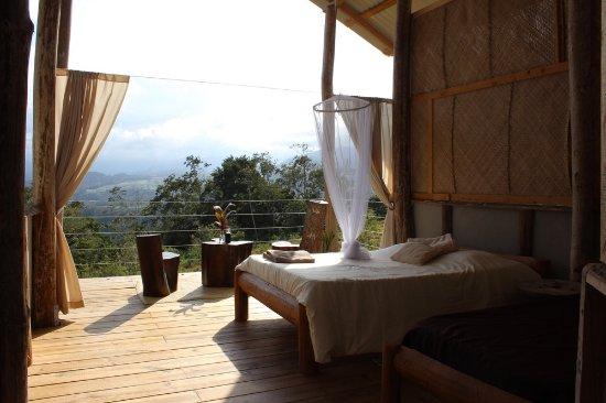 Hacienda Monte Claro: TRIPLE DECK: 1 DOUBLE AND 1 SINGLE BED              Rate=$50 per person per night.
