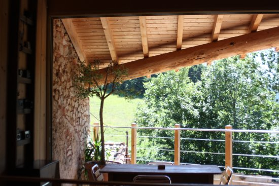Le Chaffal, France: terrasse privative