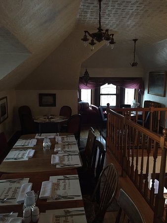 Hopkins Dining Parlour: One of the restaurant levels