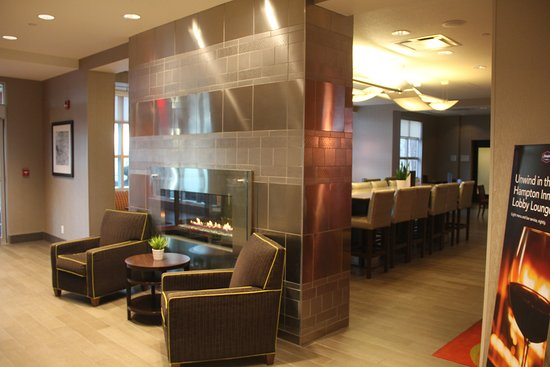 24 coffee service by the front desk picture of hampton inn by rh tripadvisor ca