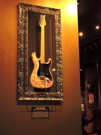 Hard Rock Cafe Van Halen Guitar