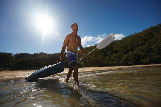 Mackay, Australia: Grab a kayak and paddle in a sheltered bay near Grasstree Beach.
