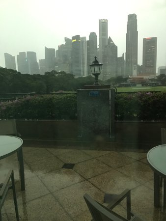 The Residence At Singapore Recreation Club: View from front and from rear mezzanine and breakfast
