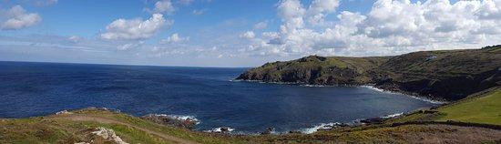 St Just, UK: Cape Cornwall - coast view