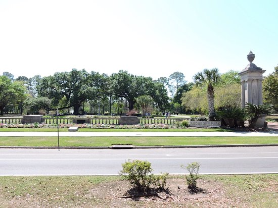 Audubon park in the garden district picture of garden - Parking garden district new orleans ...