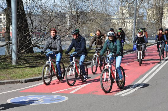 Bike Tours of Moscow
