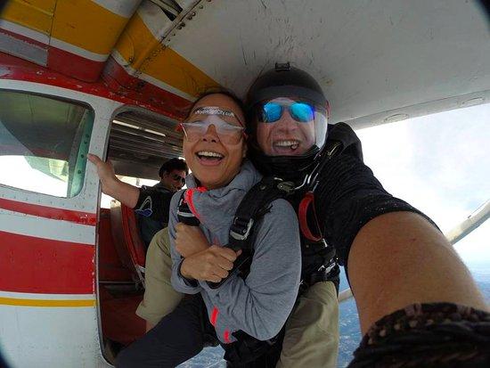 Skydive Surfcity -Santa Cruz: DERP, hahaha!