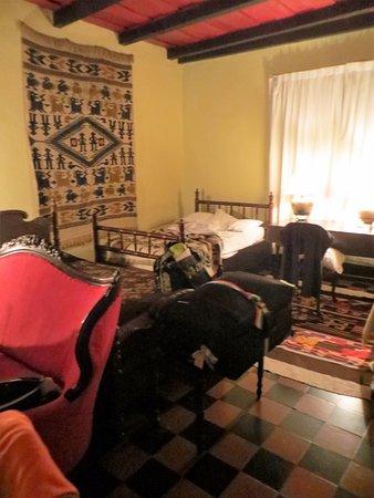 Mayan Inn: molto disordinata