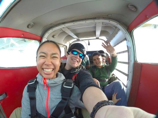 Skydive Surfcity -Santa Cruz: Getting more and more excited :)