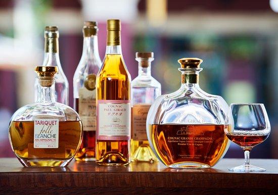 Must Winebar: After dinner? A beautiful range of Cognac, Armagnac & Calvados.