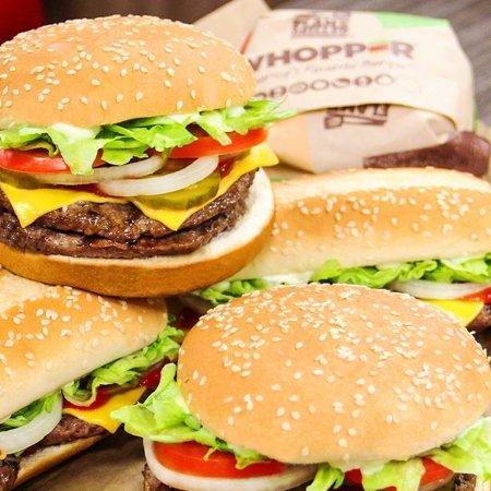 pris på burger king