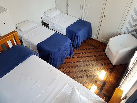 Hostel Porto Do Sol: Quarto 04 camas