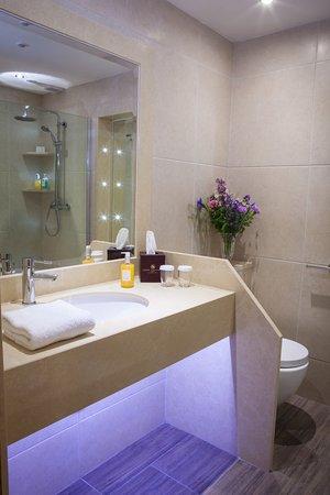 Four Seasons Hotel and Leisure Club: Bathroom