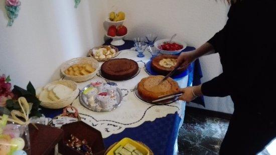 Residenza di Campagna: La colazione