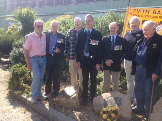 """Newhaven, Australia: Some """"mates"""" at the unveiling - 50 years! since return"""