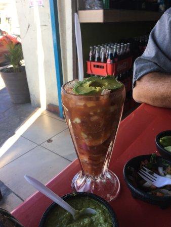 Mariscos El Mazateño : Shrimp Taco Heaven