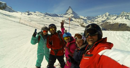 My Skischool Zermatt: С инструкторами!))